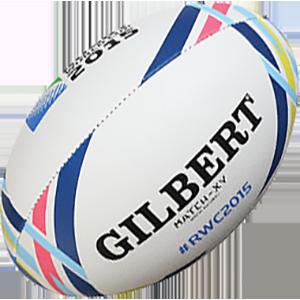 Игровой мяч кубка мира по регби